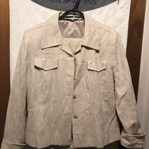 Harvey Bernard Linen pant suit